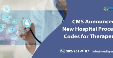 CMS Announced New Hospital Procedure Codes for Therapeutics