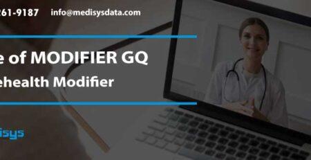 Use of MODIFIER GQ – Telehealth Modifier