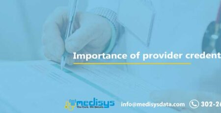 Importance of provider credentialing