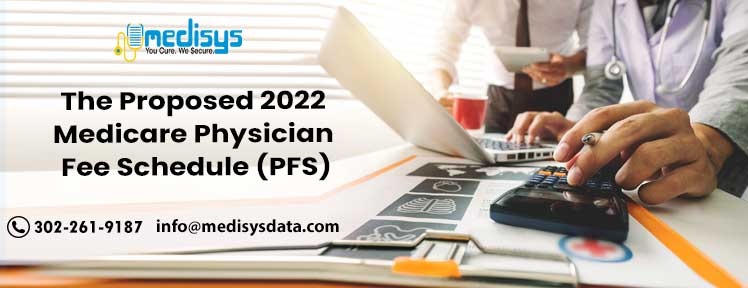 The proposed 2022 Medicare Physician Fee Schedule (PFS)